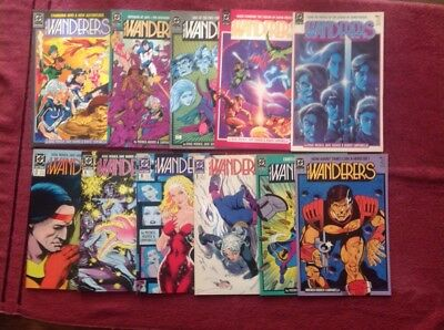 DC The Wanderers Lot of 11 VF