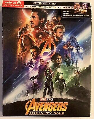 Avengers: Infinity War (4K Ultra HD Disc Only + Gallery Book) TARGET EXCLUSIVE!