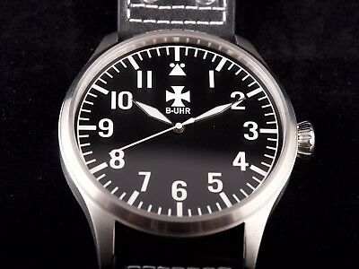 B-UHR BIG PILOT with logo 50 mm,limited edition, brand new + warranty card