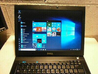 DELL LATITUDE E6400, CORE 2 DUO P8800 @2.66ghz, 4gb RAM, 160gb HDD, WIN 10 UPGRA