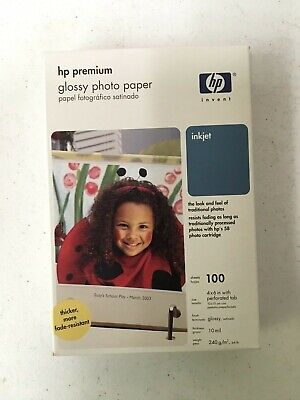 HP Photo-smart Matte Vivid~~4 x 6 Photo Paper~1,000ct~10 mil