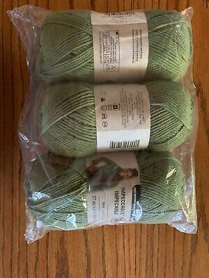 Impeccable Loops & Threads Yarn Forest 4.5 oz  Bulk Lot 3 Skeins