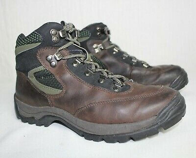 1eb74dcd5bcbb VINTAGE TIMBERLAND GORETEX Women s Brown Leather Hiking Boots 8.5 ...