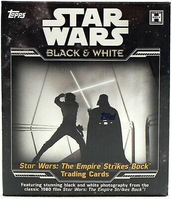 Star Wars ESB Black & White Sepia Base Card #135 R2-D2 Saves the Day Star Wars