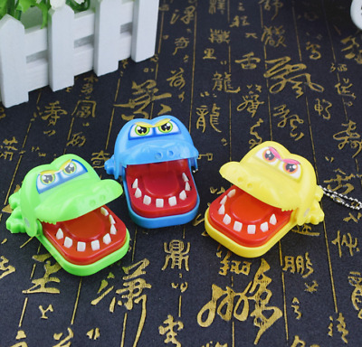 Funny Big Crocodile Mouth Dentist Bite Finger Toy Family Game For Kids Xmas Chic
