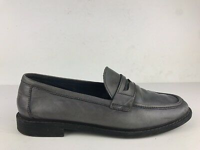 9a29dcb6e8d Cole Haan Pinch Womens Campus Penny Loafers Dark Grey Leather Size 10 C