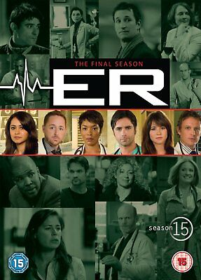 Er The Complete Final Season 15 Collection New 6 Dvd (Includes All 22 Episodes)