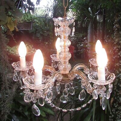 Stunning Vintage 5 Light Branch Arm Maria Theresa  Chandelier N0 2