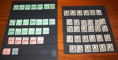 Collection of Australian Precimal Stamps on Display Sheets  - Deceased Estate