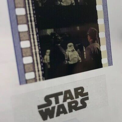 Authentic Star Wars: A New Hope (IV) Film 5-Cells DARTH VADER ON DEATH STAR