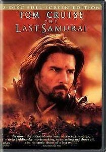 The Last Samurai DVD 2-Disc Set FREE SHIPPING Full-Screen Version