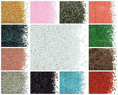 CHOOSE COLOR! 10g 11/0 (1.6mm) Miyuki Delica, Japanese Seed Beads