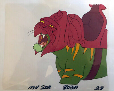 He-man The Masters of the Universe Cel Battle Cat