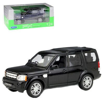 Welly 1:24 Land Rover Discovery 4 SUV Diecast Model Car Toy New Black