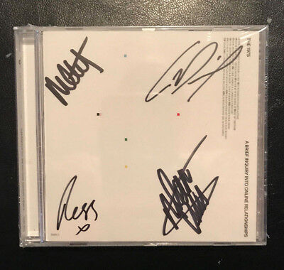 The 1975 - A Brief Inquiry Into Online Relationships Autographed Signed New CD