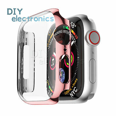 42/40/44mm Screen Protector Case Snap On Cover for Apple Watch Series 4/3 US