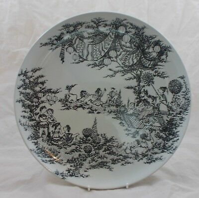 Nymolle Denmark - Bjorn Wiinblad - Midsummer Nights Dream - charger plate 35.5cm