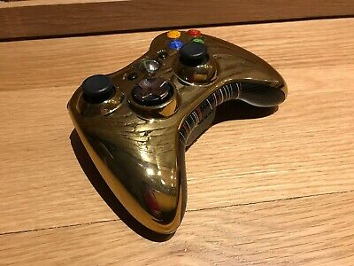 Official STAR WARS Gold Microsoft Xbox 360 Special Edition Controller, C-3PO Ed.