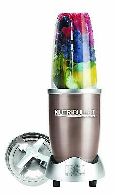 NutriBullet 900w 5-piece Nutrition Extractor Champagne NB9-0507 Free Shipping