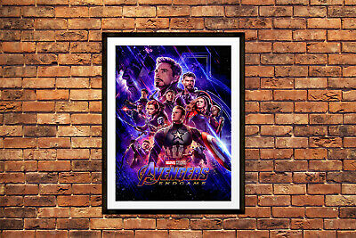 Avengers Endgame Movie Poster Marvel Maxi Prints 2019 Infinity War 2 -1649