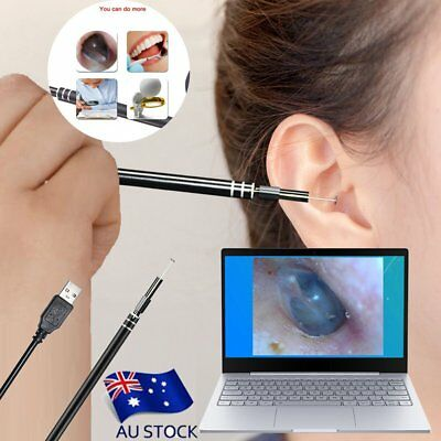 Visual Ear Cleaning Earpick Mini Camera Endoscope USB HD Visual Ear Spoon LH