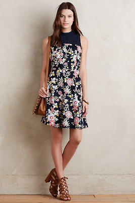 7428daaf847cf NIP ANTHROPOLOGIE LILIFLORA Dress by Moulinette Soeurs Sz 2 $178 ...