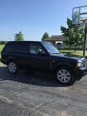 2012 Land Rover Range Rover HSE Lux 2012 Range Rover HSE LUX with SILVER PACKAGE