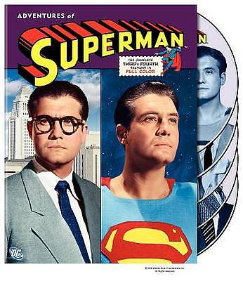 The Adventures of Superman Complete Third & Fourth Season 3 & 4 ~ NEW 5-DISC DVD