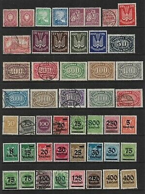 GERMANY Very Nice Early Mint and Used Issues Selection '2' (Mar 082)
