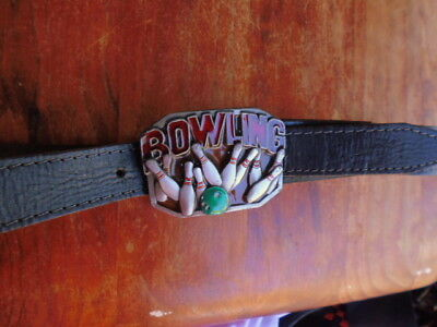 Masterpiece Collections Buckles Of America Bowling Belt. Made In The U.s.a.