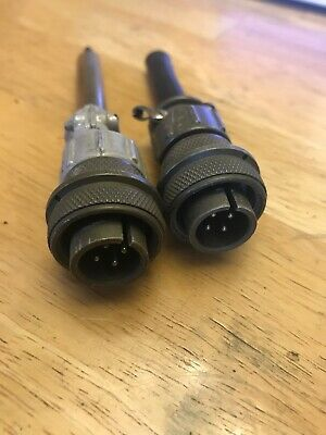 AMPHENOL MS 3106A 14S-2P Circular connector  Male Cable Mount