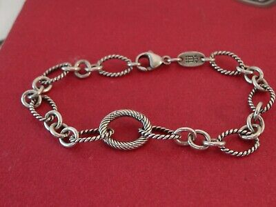 07d4df684 JAMES AVERY TWISTED Oval Changeable Charm Bracelet 8