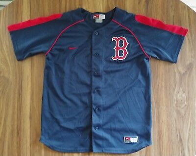 bc3a16e535e Boston Red Sox Jersey NIKE Size Youth Size L Blue Boys 16-18. Redsox