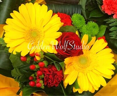 Digital Photo Picture Image - Bouquet 2 - Free Shipping