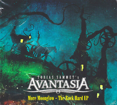 CD • AVANTASIA • 2019 • MORE MOONGLOW • The Rock Hard EP • NEW, STILL SEALED!!