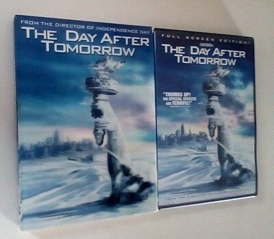 The Day After Tomorrow DVD Full Screen 2004