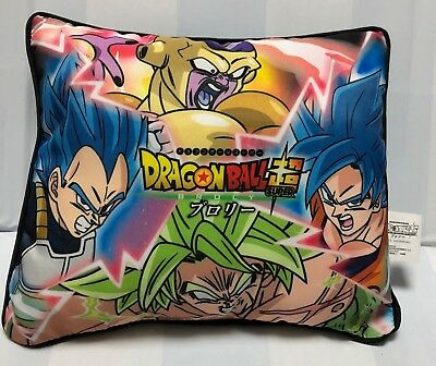 A type Dragon Ball Super Broly Movie  Mini cushion Autograph Collaboration Anime