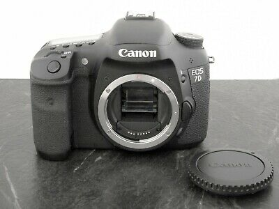 Canon EOS 7D 18.0MP Digital SLR Camera - Black - Body Only - Free Expedited Ship