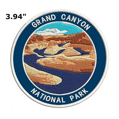 Grand Canyon National Park Embroidered Patch Iron-On Souvenir Travel Explore