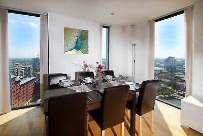 Park Life-  Penthouse sleeps 6 for 7th - 9th of June Manchester 2 nights