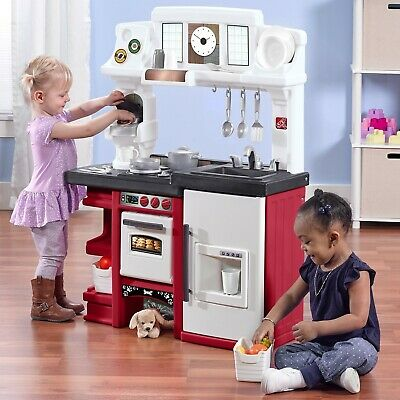 KITCHEN FOR TODDLER Set Large Playset Kid Play Sink Home ...
