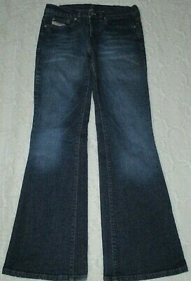 5c3979a6 Diesel Industry Denim Women's 29 Button Fly Boot Cut Cotton Stretch Jeans  Italy