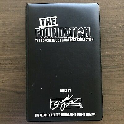 Sound Choice Karaoke Foundation 1 Complete Set Of Cdg's In Immaculate Condition.