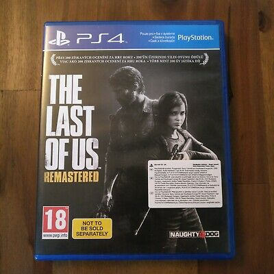 The Last Of Us - Remastered (Sony PlayStation 4, 2014)