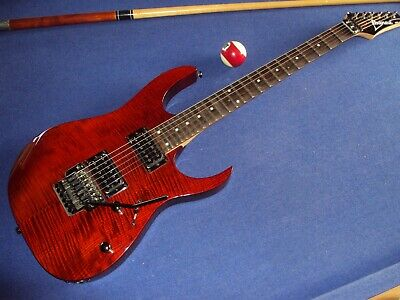 Scalloped Ibanez RG 320 FA,2003,Korea,FR, playing ala Yngwie, Ritchie & Co !