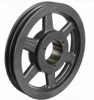 """Browning Fixed Pitch Sheave, 2-Groove Pulley, 15.68"""", A, B Belts, 2Tb154"""