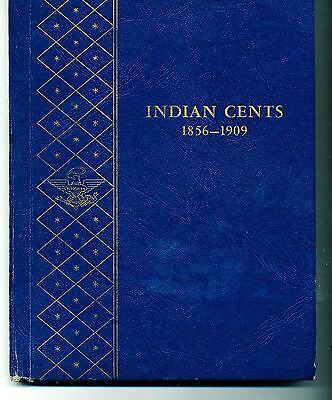 32 Different Indian Cents Starter Set In Whitman 9402 Coin Album
