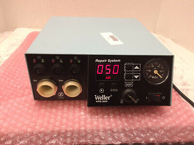 Weller WRS 3000 Solder Repair System Self-Contained 3 Station Control Unit