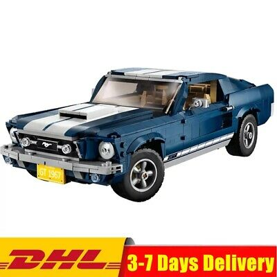 CREATOR Ford Mustang GT 1960 compatibile Lego 10265 - 1471 pezzi - NUOVO DHL