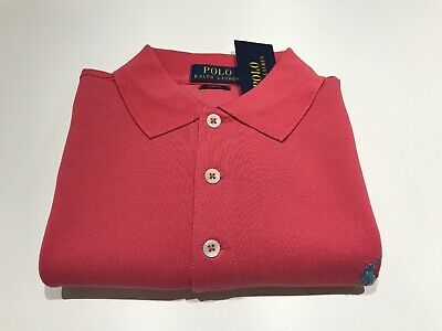 Polo Ralph Lauren Polo Red/Pink Size M Slim fit Mesh